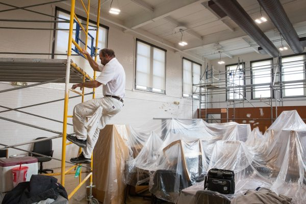 McKinley's Library Renovation Attracts Attention of TV Station